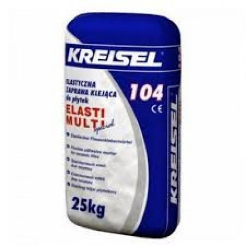 Клей для плитки Крайзель 104 (Kreisel 104) ELASTI 25 кг