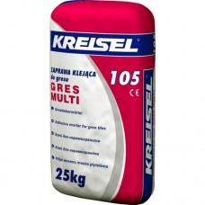 Клей для плитки Крайзель 105 (Kreisel 105) GRES MULTI 25 кг