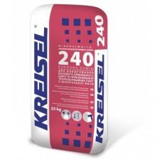 Клей для приклеивания и армирования ППС и минеральной вати Крайзель (Kreisel) 240, 25 кг