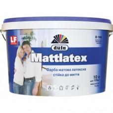 DUFA Фарба латексна матова Mattlatex D100, 10 літрів