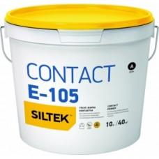 SILTEK Е-105 / 10л Грунт-краска Contact (бетоноконтакт)