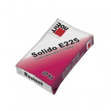 Стяжка для пола Baumit Solido E225 (Баумит Солидо Е225) толщина слоя 12-80мм,25 кг