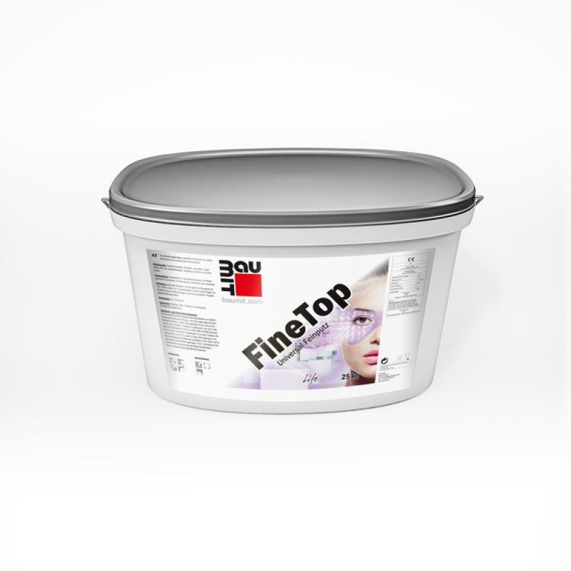 Штукатурка декоративная силиконовая Baumit FineTop Барашек (зерно 1,0) ведро 25кг.