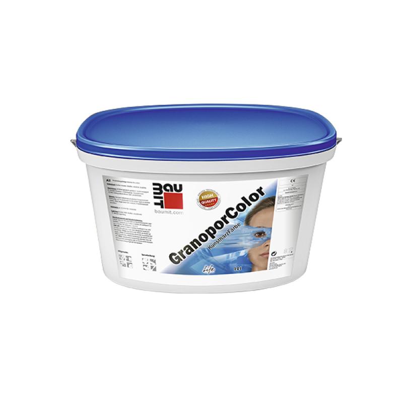 Краска Baumit GranoporColor ( Баумит ГранопорКолор ) фасадная акриловая (14 л)