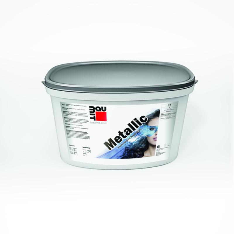 """Краска Baumit Metallic (МЕТАЛИК) дисперсионная краска с эффектом """"металлик"""" (15 кг)"""