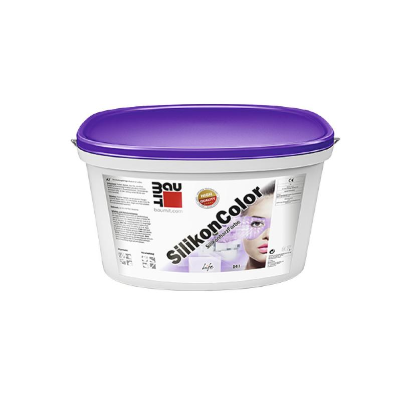 Краска Baumit SilikonColor (СИЛИКОНКОЛОР) фасадная силиконовая (14 л)