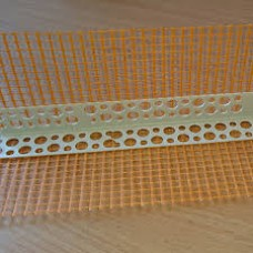 Уголок ПВХ перфорированный с сеткой 2,5м