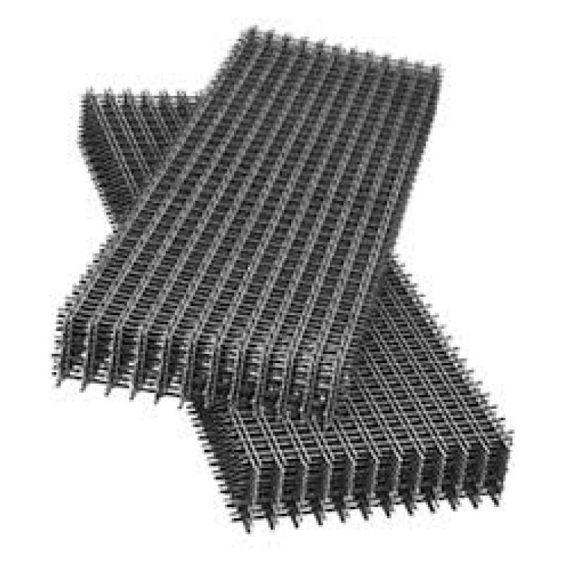 Сетка сварная кладочная ячейка 120*120мм карта1*2м толщина прута 2,8мм