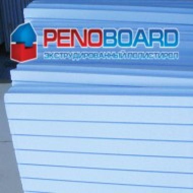 Пенополистирол экструдированный PENOBOARD 1200х550х30мм Г1 (14шт/уп)