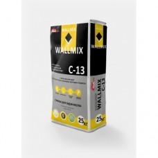 Штукатурка цементная ВОЛМИКС (Wallmix) C13 для внутренних работ (25кг)