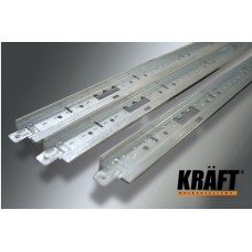 Профиль KRAFT Nova Т-24 (0,6) 25*24мм RAL9003<br />