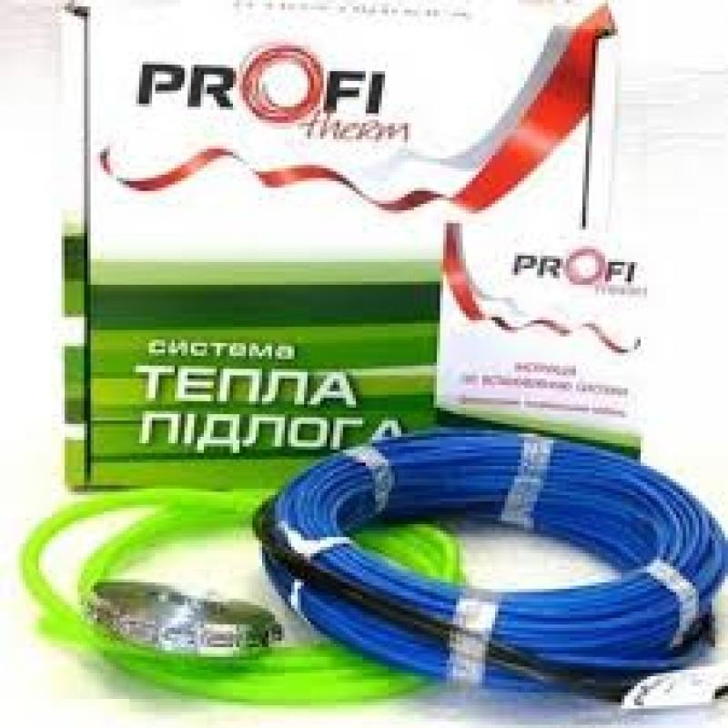 Двужильный нагревательный кабель в стяжку ProfiTherm-445(2,9-2,3м2)(Польша).