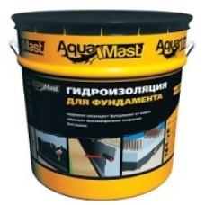 Мастика битумная AquaMast гидроизоляционная (18кг)