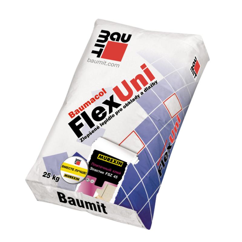 Клей для плитки Баумит Флекс Уни, 25 кг
