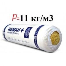 НЕМАН М-11 Лайт стекловолоконный утеплитель толщина 50мм (50х1200х6250мм * 2шт)(15м2/рул.)