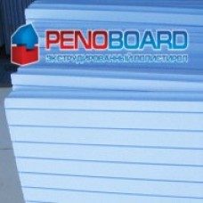 Пенополистирол экструдированный PENOBOARD 1200х550х40мм Г1 (10шт/уп)