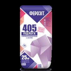 Самовыравнивающаяся смесь от 2 до 80 мм Ферозит 405 (25кг)