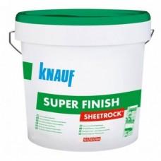 Шпаклевка финишная акриловая Кнауф Шитрок (KNAUF) SUPERFINISH, 28 кг