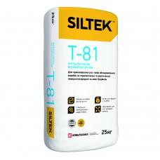 Клей для плитки Силтек Т-81 высокоэластичный,термостойкий, 25 кг