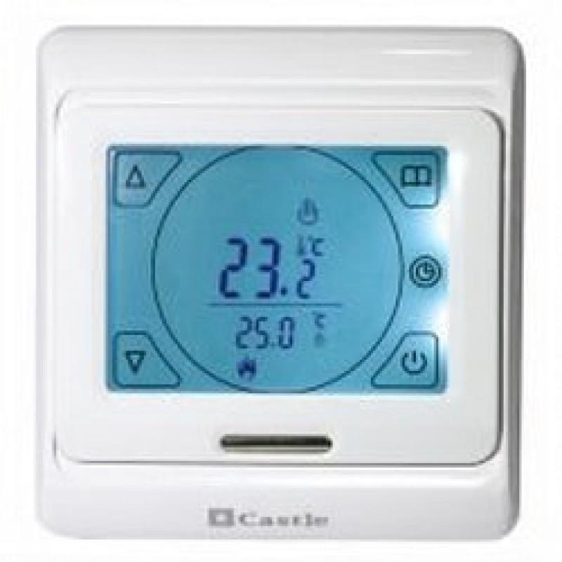 Программируемый терморегулятор для теплого пола Castle М 9.716