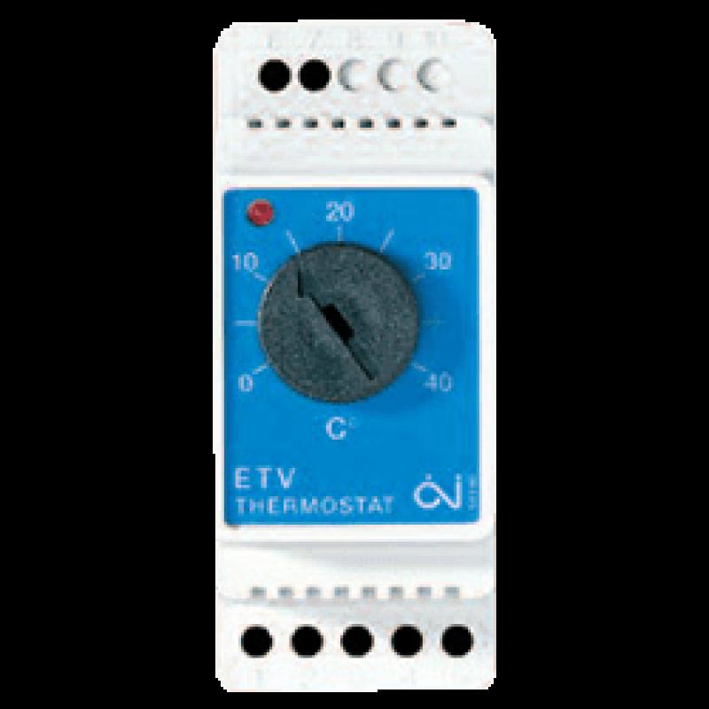 Терморегулятор для теплого пола на DIN- рейку ETV-1991 (Дания)