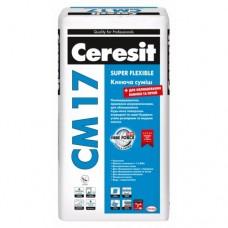 Сeresit CM-17 Super Flexible Клей для плитки (Церезит CM -17),25 кг