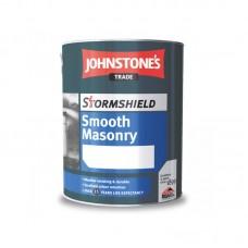 Краска для наружных работ на основе акриловой смолы Johnstone's Stormshield Smoosh Masonry Finish (5л)
