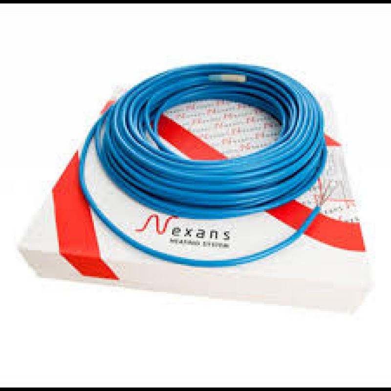 Одножильный экранированный нагревательный кабель в стяжку NEXANS TXLP/1(12,9-10,3м2)(Норвегия)