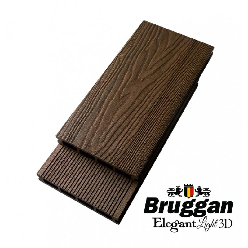 Террасная доска BRUGGAN Elegant Light 3D (Бельгия)