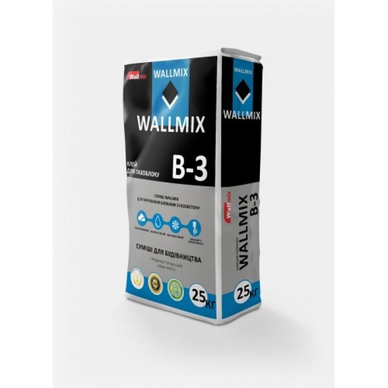 Wallmix B3 Клей для газоблока (25кг)