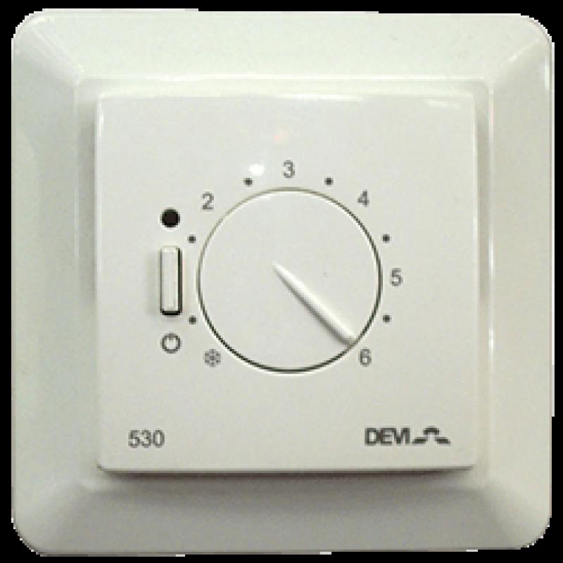Механический терморегулятор для теплого пола DEVIREG 530