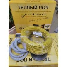 Двужильный нагревательный кабель в стяжку In-Therm(7,4-6,4м2)(Чехия).