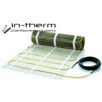 Двужильный нагревательный мат In-Therm(0,8м2)(Чехия)