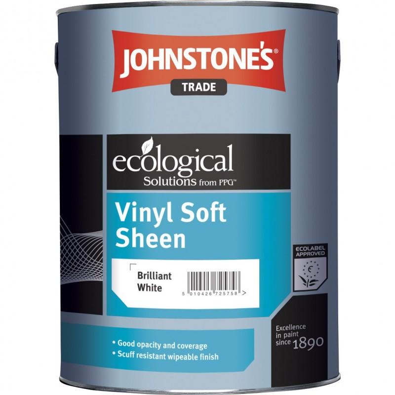 Виниловая водоэмульсионная краска Johnstone's Vinil Soft Sheen (10л)