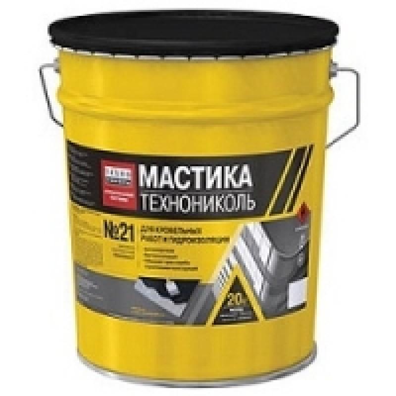 Мастика Техномаст №21 кровельная ТехноНиколь (20кг)