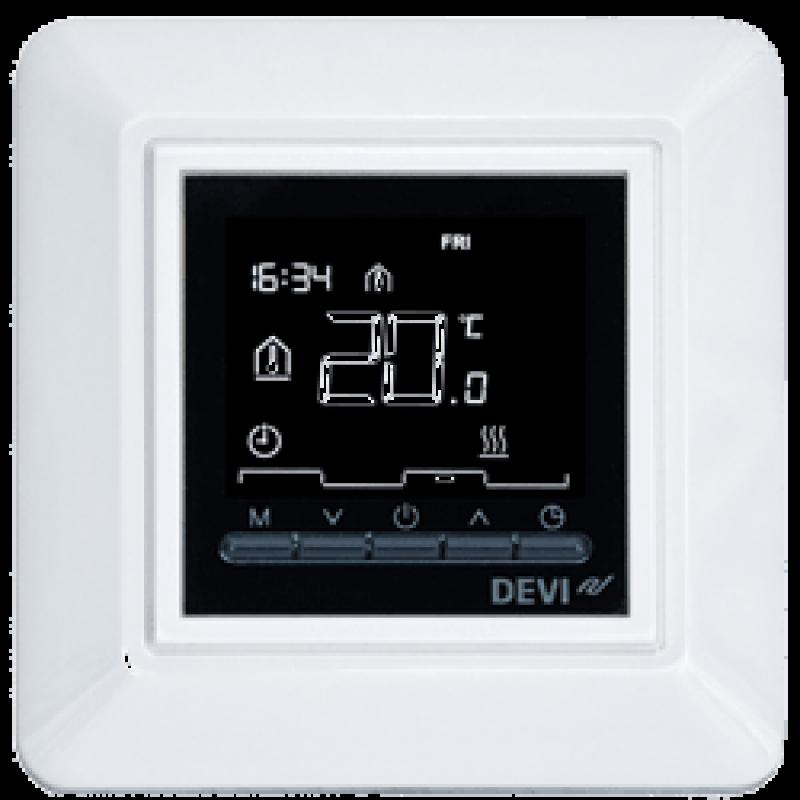 Программируемый терморегулятор для теплого пола DEVIreg Opti