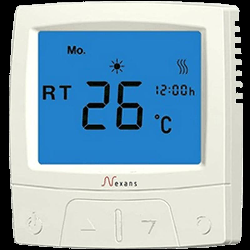 Программируемый терморегулятор для теплого пола NEXANS Millitemp