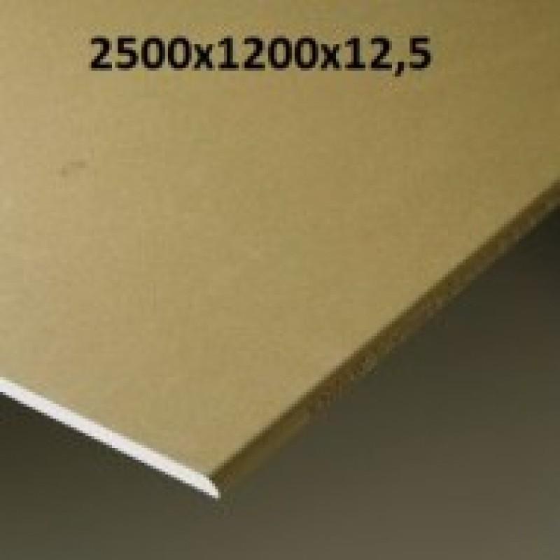Гипсокартон повышенной твердости кнауф (KNAUF) ТИТАН 12,5Х1200Х2500 мм