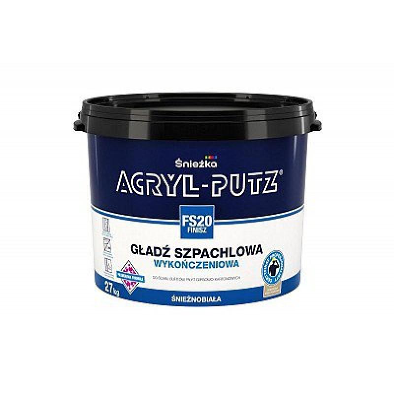 Шпаклевка финишная акриловая Снежка Acril-Putz Финиш (27кг)