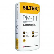 ШТУКАТУРКА ЦЕМЕНТНАЯ СТАРТОВАЯ СИЛТЕК (SILTEK) PM-11 (25кг)