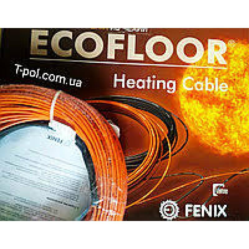 Двужильный нагревательный кабель в стяжку FENIX(9,6-8,3-6,9м2)(Чехия).