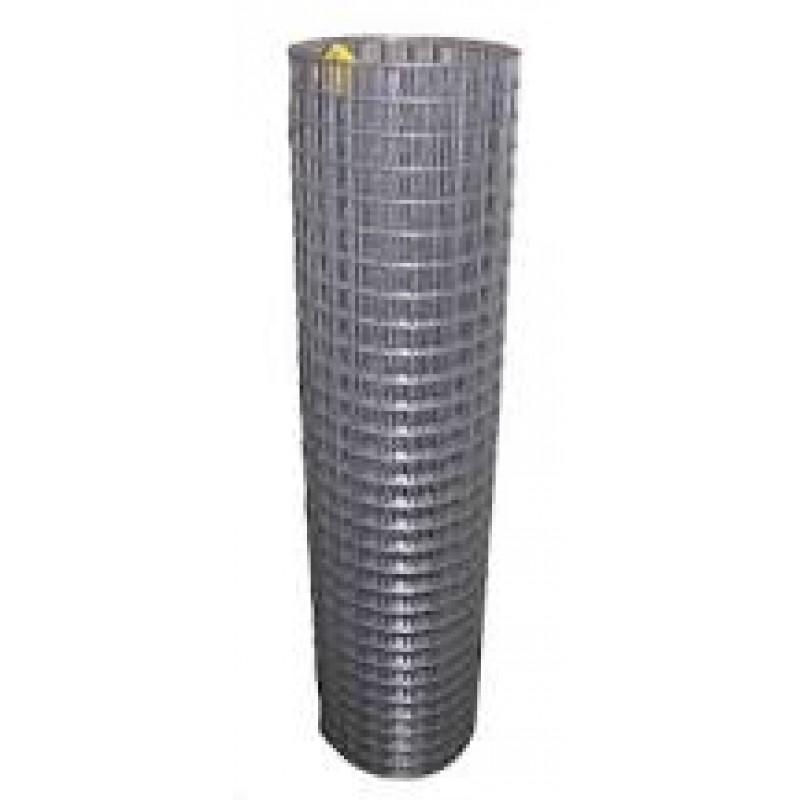 Сетка сварная штукатурная 12,5*12,5(30м.кв) проволока 0,6мм черная