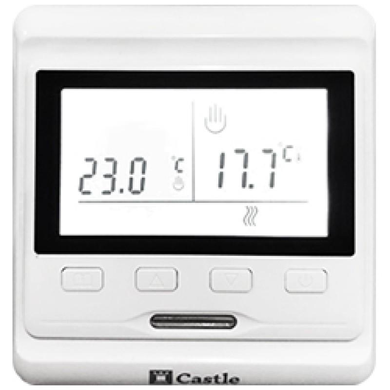 Программируемый терморегулятор для теплого пола Сastle e53.716
