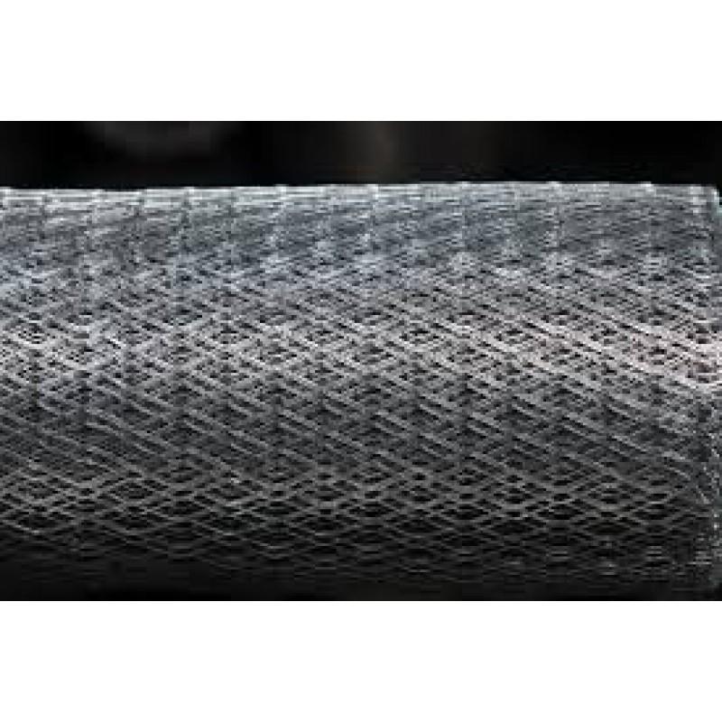 Сетка просечно-вытяжная штукатурная 25*60 оцинкованная(10м.кв)