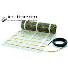 Двужильный нагревательный мат In-Therm(13,9м2)(Чехия)