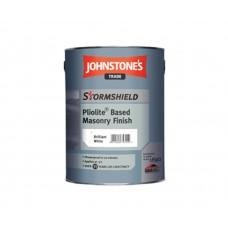 Фасадная краска Johnstone's Stormshield Pliolite Based Masonry Finish для наружных работ (5л)