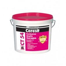 CERESIT CT 54 Краска силикатная, 10л