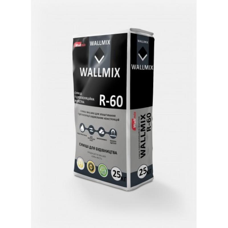 Гидроизоляция ВОЛМИКС (Wallmix) R60 (25кг)