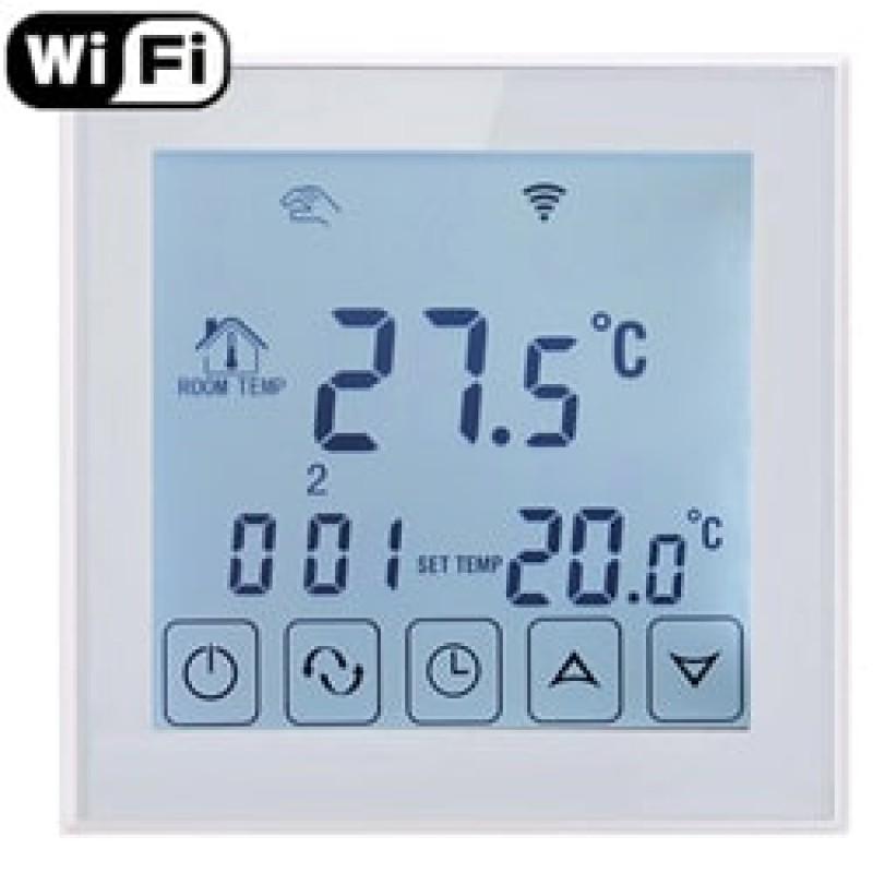 Программируемый терморегулятор для теплого пола Klimteh BHT-323 WiFi