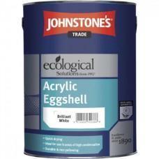 Водорастворимая матовая краска Johnstone's Acrylic Eggshell  (2.5л)